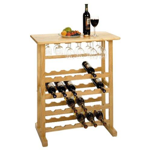 Basics 24 Bottle Wine Rack