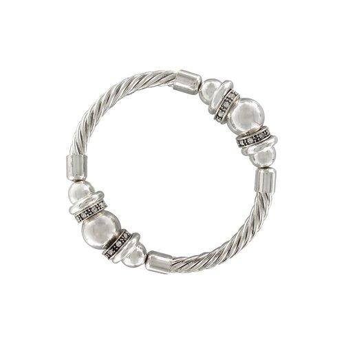 Artisan Heart Charmed Stretch Bracelet