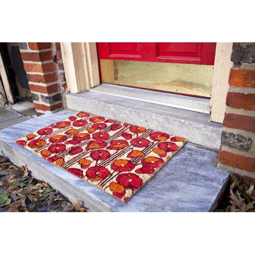 Entryways Sweet Home Poppies Doormat