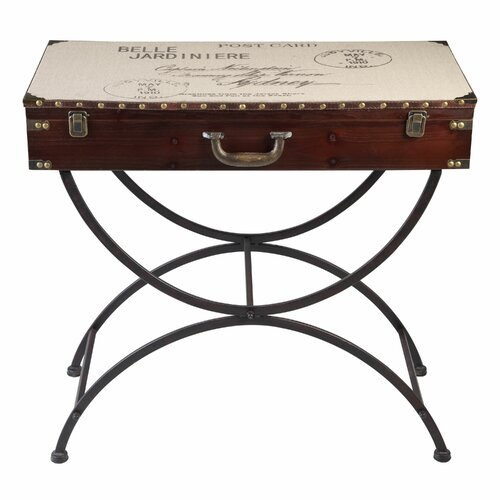 Belle Jardiniere Trunk Console Table