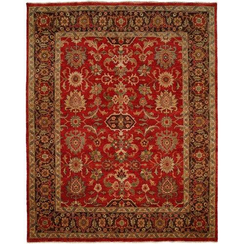 Wildon Home ® Herbal Red/Brown Rug