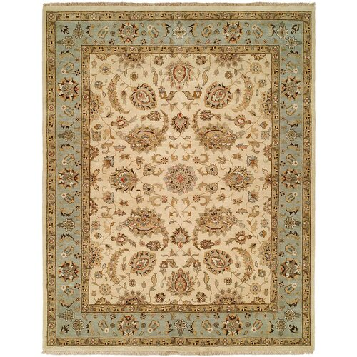 Wildon Home ® Ivory / Light Blue Rug