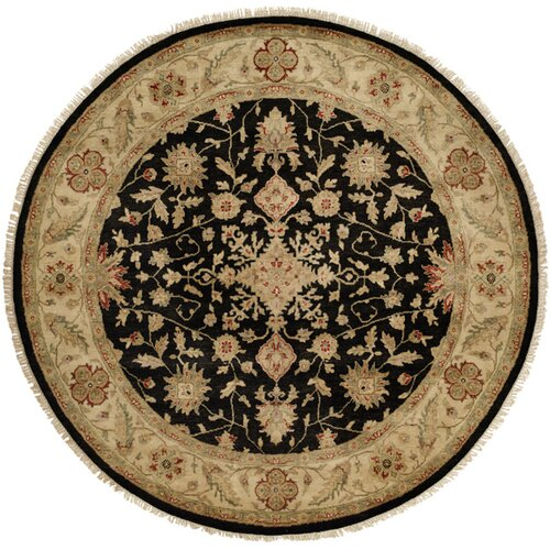 Wildon Home ® Black / Ivory Rug