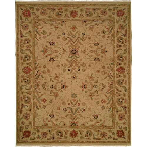 Wildon Home ® Soumak Soft Gold Rug