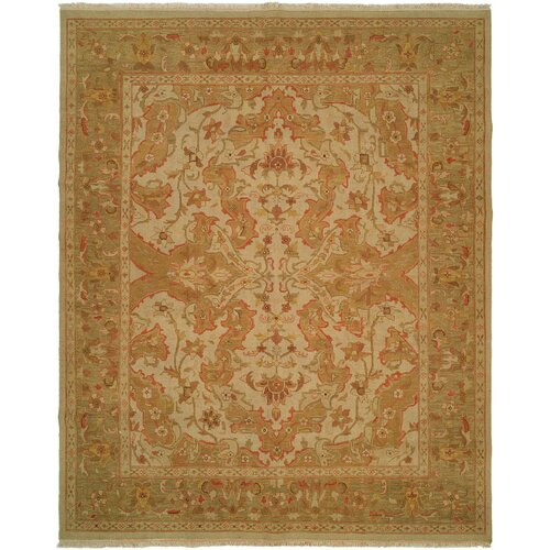 Soumak Antique Ivory / Soft Gold Rug