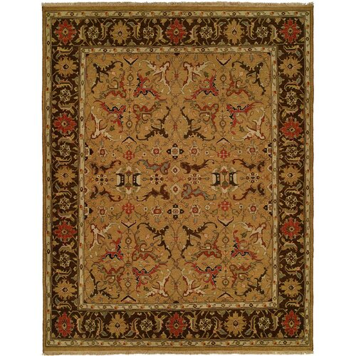 Wildon Home ® Gold / Brown Rug