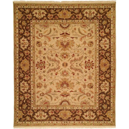 Soumak Gold / Brown Rug