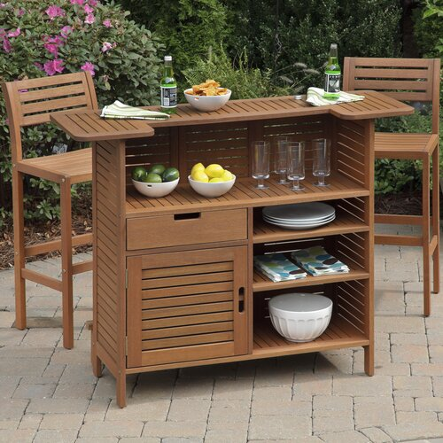 Home Styles Montego Bay 3 Piece Bar Cabinet Set Amp Reviews