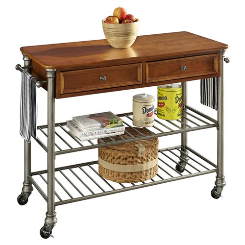 Home Styles Orleans Kitchen Island With Wood Top Reviews
