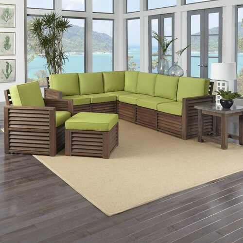 spice islands kingston reef 6 piece living room set