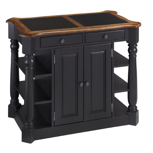 Home Styles Americana Kitchen Island with Granite Top & Reviews