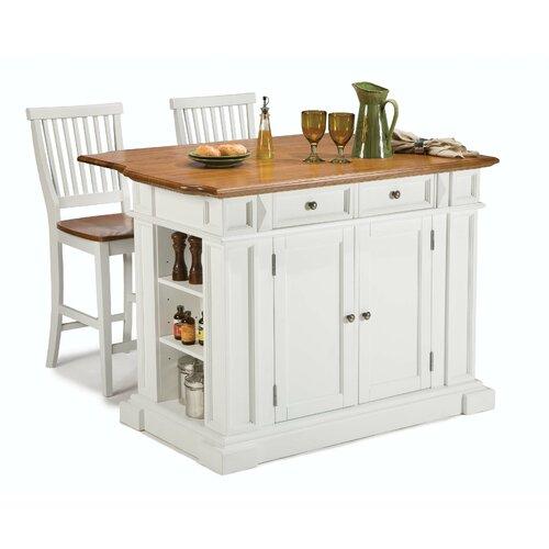 Home Styles Kitchen Island Set