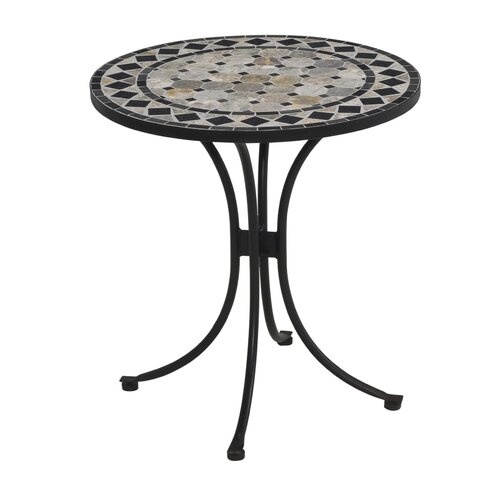 Home Styles Marble Bistro Table