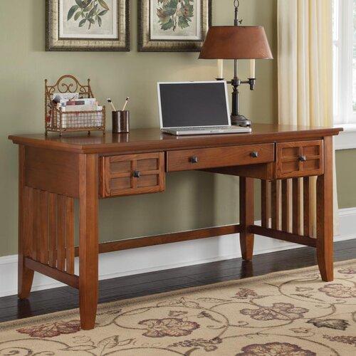 Arts and Crafts Executive Writing Desk