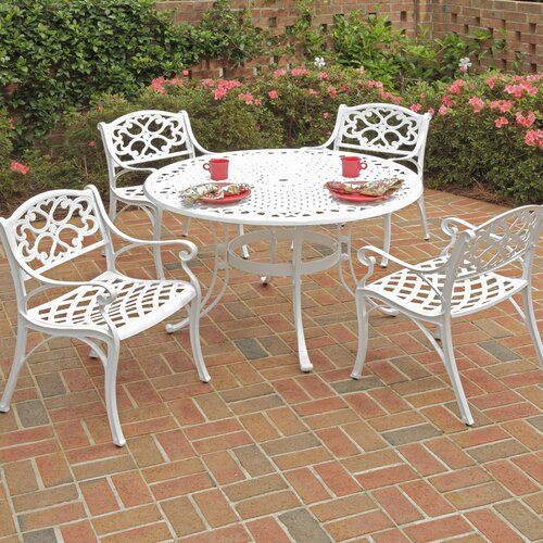 Home Styles Biscayne 5 Piece Dining Set