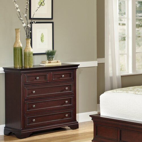 Home Styles Lafayette 4 Drawer Chest
