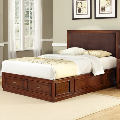 Home Styles Duet King Platform Panel Bed