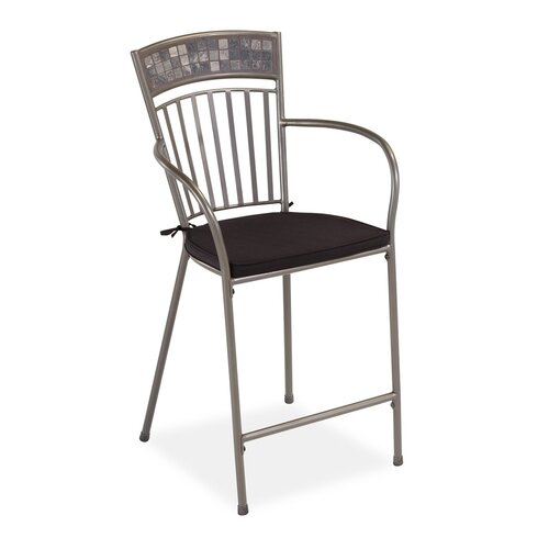 "Home Styles Glen Rock 24"" Barstool with Cushion"