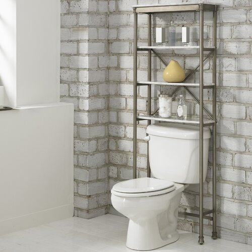 "Home Styles Orleans 25"" x 64"" Over the Commode Stand"