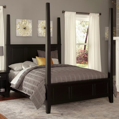 Home Styles Bedford Four Poster Bed
