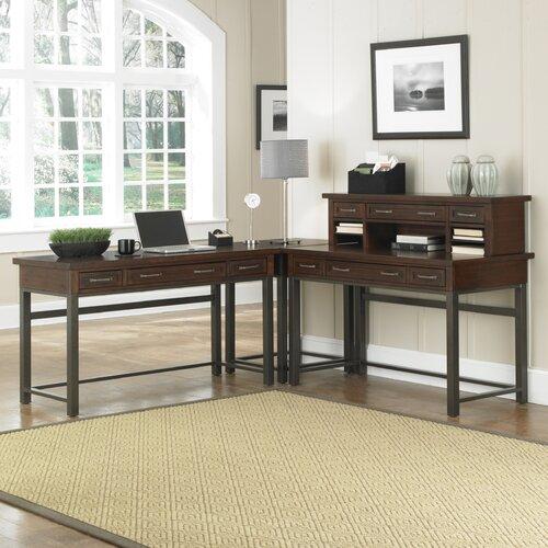 Home Styles Cabin Creek L-Shape Desk Office Suite