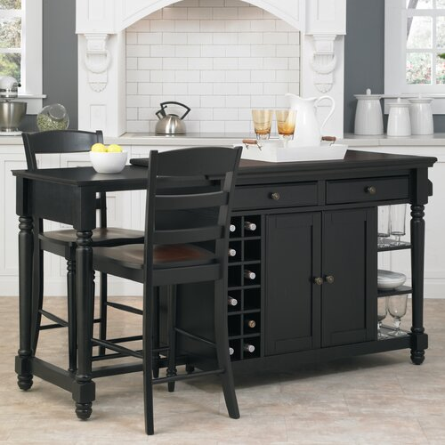 Home Styles Grand Torino Kitchen Island Set
