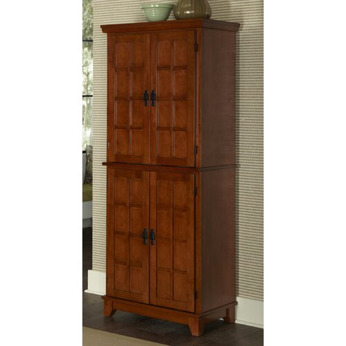 "Home Styles Arts and Crafts 72"" Kitchen Pantry"