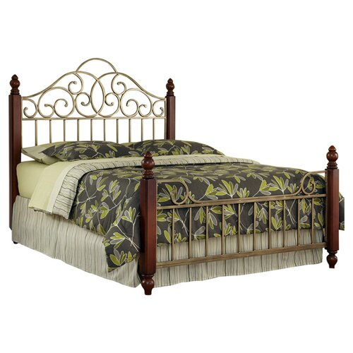 Home Styles St. Ives Metal Bed