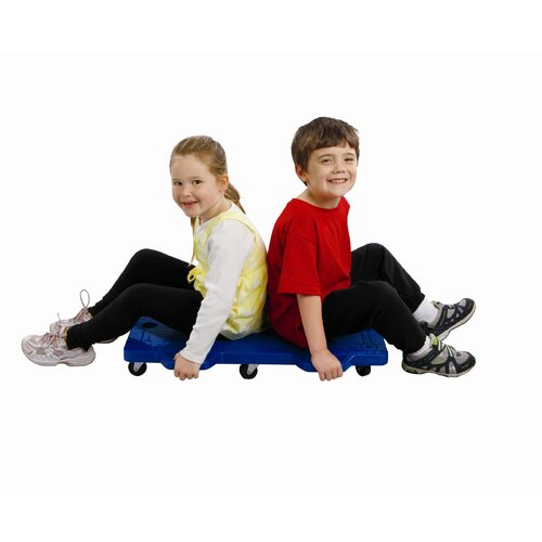 FlagHouse Double Scooter Push Ride-On