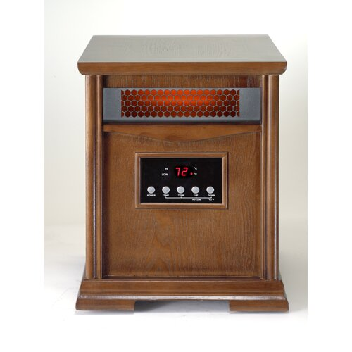 Dynamic Infrared Dynamic 6 Quartz Element 1,500 Watt Infrared Cabinet Space Heater