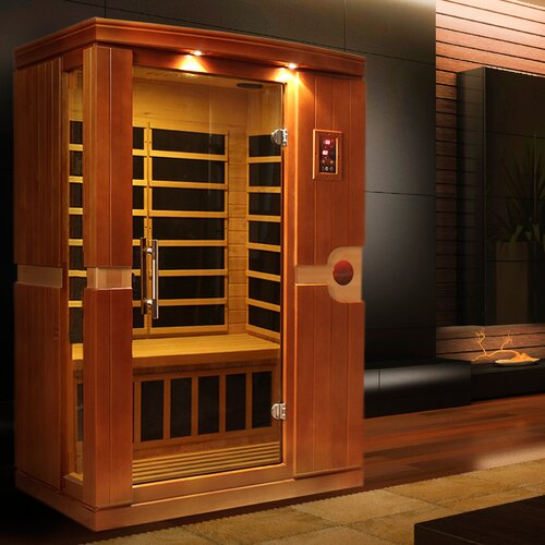 Dynamic Infrared Venice 2 Person FAR Infrared Sauna & Reviews ...