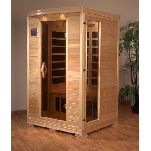 Dynamic Infrared Luxury 2 Person Carbon FAR Infrared Sauna
