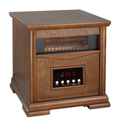 Dynamic Infrared Dynamic 4 Quartz Element 1,500 Watt Infrared Cabinet Space Heater