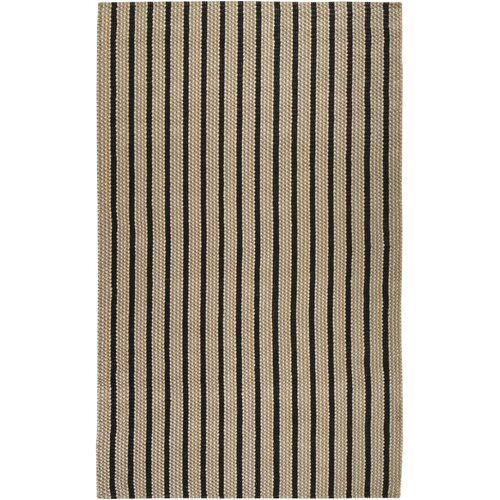 Country Living™ by Surya Country Jutes Winter White/Caviar Rug
