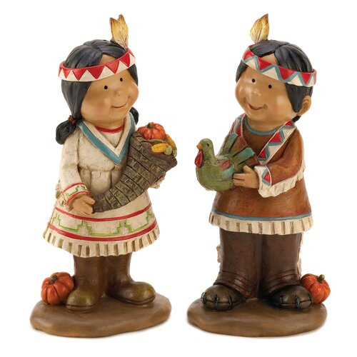 Zingz & Thingz Giving Thanks Figurines