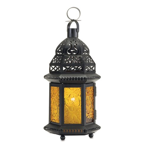 Zingz & Thingz Exotic Citrine Lantern