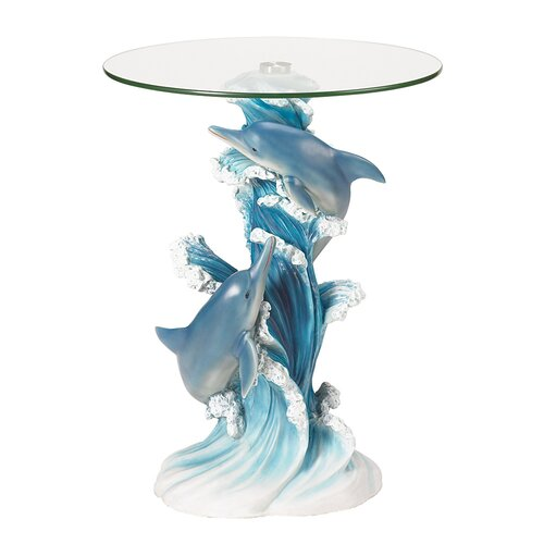 Zingz Amp Thingz Wave Dancers Dolphin End Table Amp Reviews