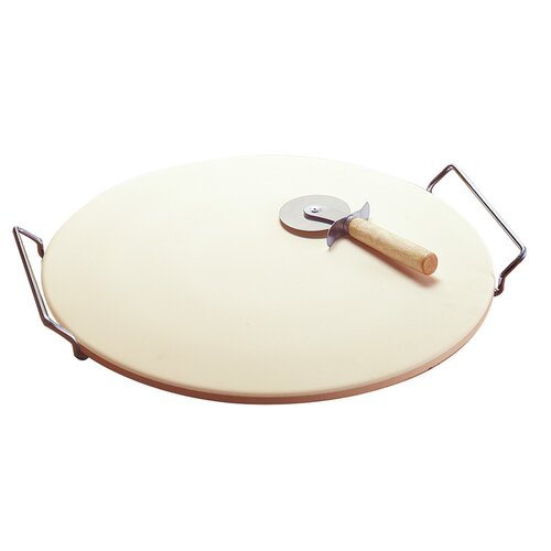 Easy Handle Pizza Stone Set