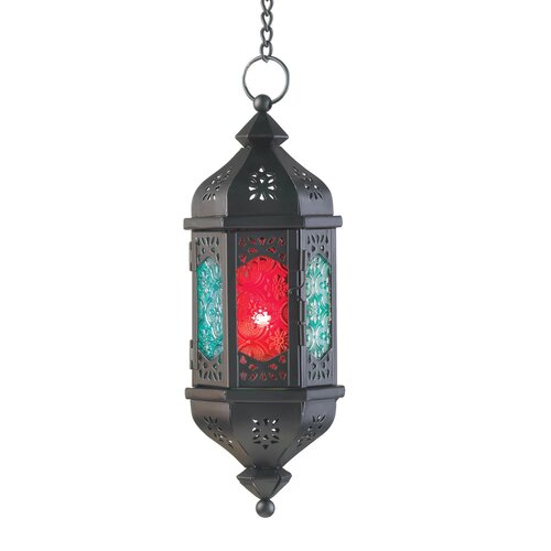 Zingz & Thingz Multi-color Hanging Lantern