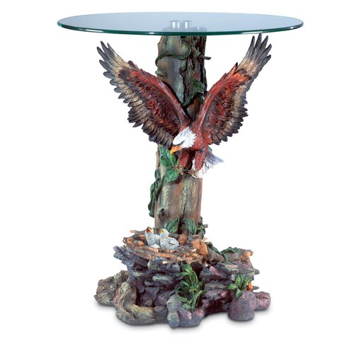 Flying Eagle End Table