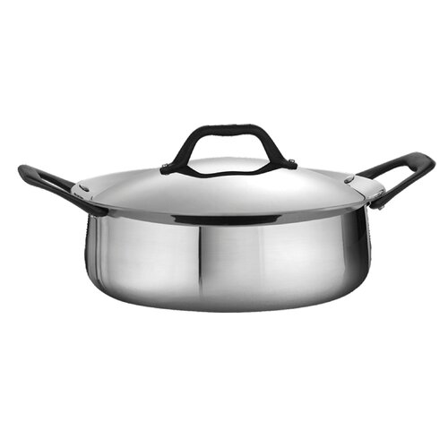 Limited Edition 3.5-qt. Stainless Steel Round Casserole