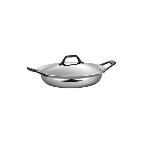 Limited Edition Butterfly Stainless Steel 3-qt. Everyday Frying Pan with Lid
