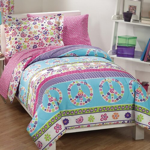 Peace and Love Bed Set