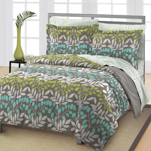 Leaves Bed Set