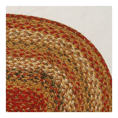 Green World Rugs Oval Mustard Seed Stair Treads