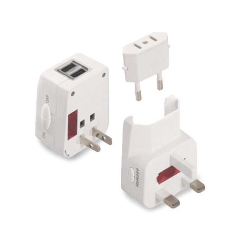 Symtek Universal Travel Adapter and USB Charger