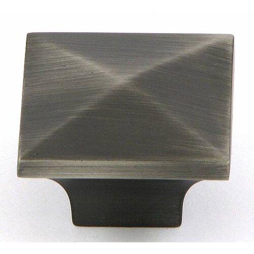 "Stone Mill Hardware Cairo 1.25"" Square Knob"
