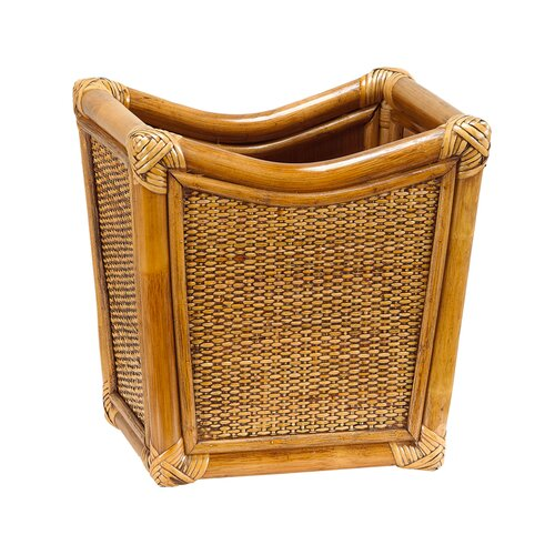 Gate house furniture natural rattan wastebasket reviews for Gatehouse furniture