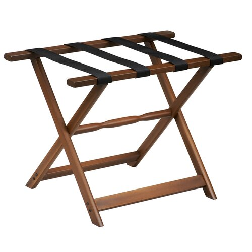 Gate House Furniture 1260 Series Straight Leg Luggage Rack