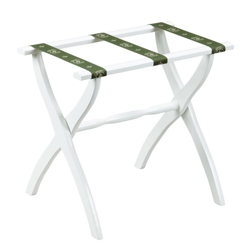 Gate House Furniture 1600 Series Contour Leg Luggage Rack